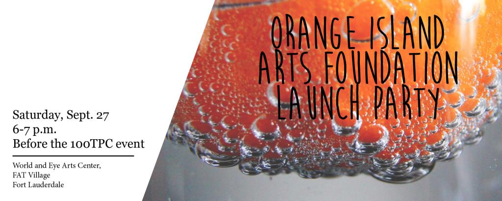launch party slide